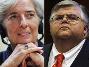 IMF công bố 2 ứng cử viên Tổng giám đốc ảnh 1
