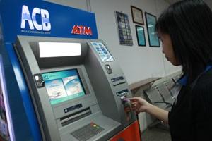 Tạm ngưng lắp máy ATM ảnh 1