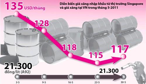 Chờ giảm giá xăng dầu ảnh 1