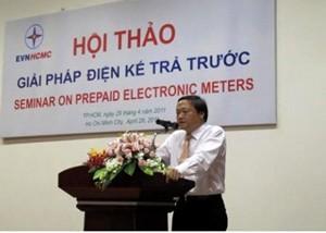 TPHCM bán điện theo hình thức trả trước ảnh 1