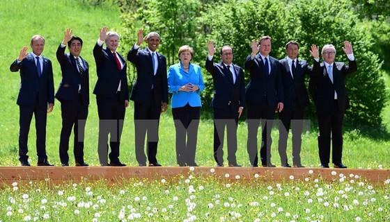 G-7 thảo luận nhiều vấn đề nóng ảnh 1