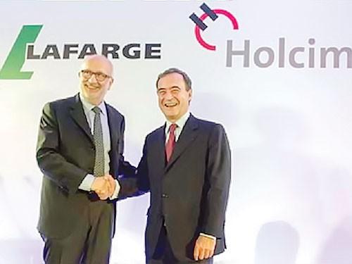 Holcim sáp nhập Lafarge ảnh 1