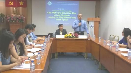 250 DN FDI đối thoại với chính quyền TPHCM ảnh 1