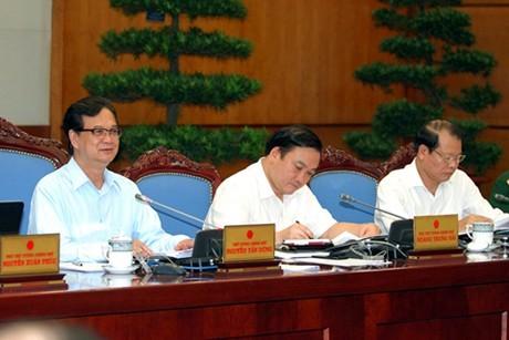 Chính phủ họp phiên thường kỳ tháng 8-2013 ảnh 1