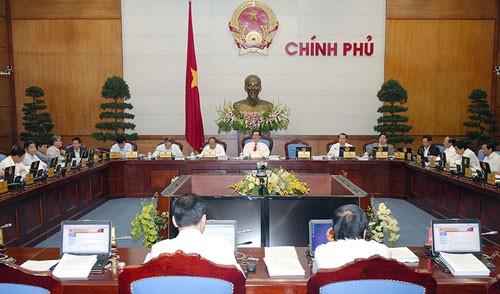 Chính phủ họp phiên thường kỳ tháng 3-2013 ảnh 1
