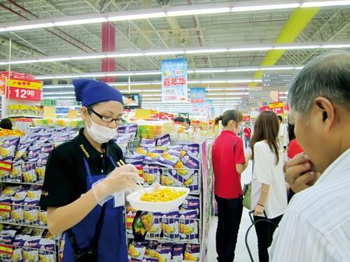 Hàng Việt vào siêu thị Trung Quốc ảnh 1