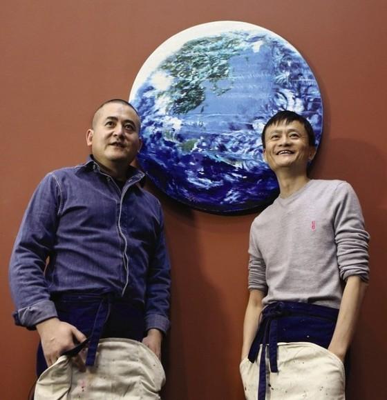 Tranh của Jack Ma được bán đấu giá 5,3 triệu USD ảnh 1