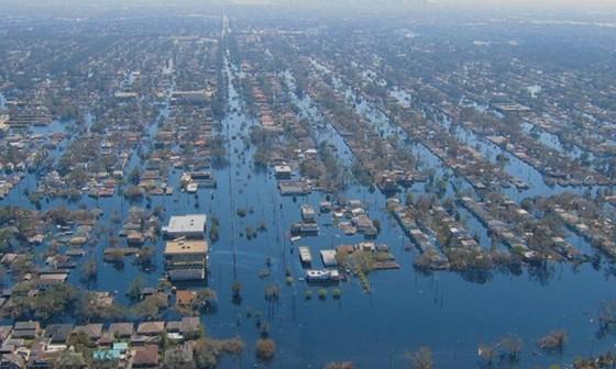 Nước biển dâng đe dọa các siêu đô thị ảnh 1