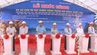 Mở rộng quốc lộ 1A đoạn qua Ninh Thuận ảnh 1
