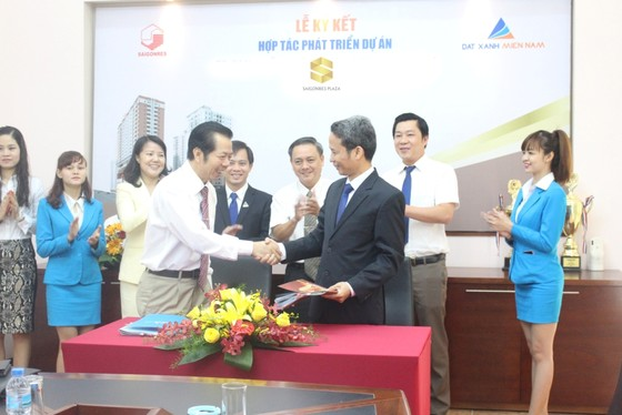 Đất Xanh Miền Nam phân phối độc quyền Saigonres Plaza ảnh 1