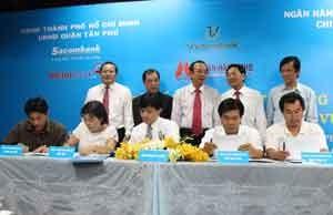 Tài trợ 95 tỷ đồng cho DN quận Tân Phú ảnh 1