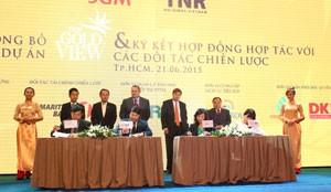 TNR Holdings ra mắt dự án The GoldView ảnh 1