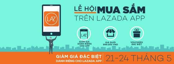 Lazada: Khuyến mại 10% và cơ hội nhận vé Singapore ảnh 1