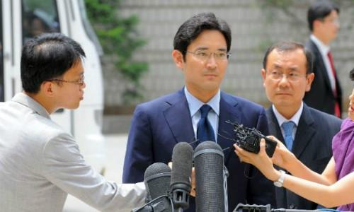 Người thừa kế Samsung bị coi là nghi phạm ảnh 1
