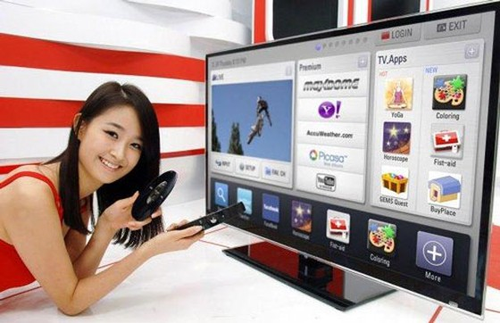 2012: Bùng nổ smart TV kết nối internet ảnh 1