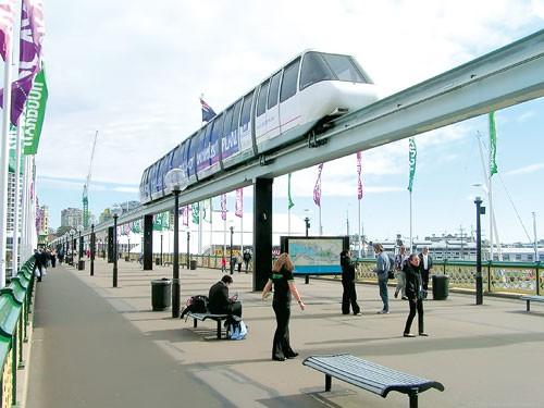 Chưa thể khởi động monorail ảnh 1