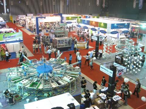Triển lãm dệt may Đài Loan tại TPHCM ảnh 1