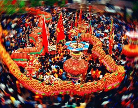 Rộn ràng đón Tết năm rồng tại châu Á ảnh 1