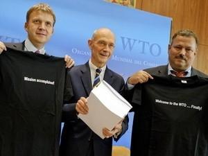 Chấm dứt đàm phán việc Nga gia nhập WTO ảnh 1
