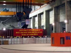 Thủy điện Sơn La khởi động tổ máy số 5 ảnh 1