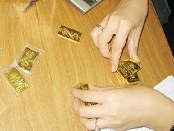 Phát hiện 300 lượng vàng nhái SJC ảnh 1