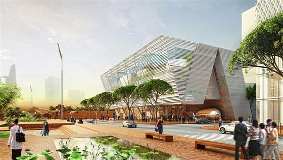 35 triệu USD xây trung tâm triển lãm quy hoạch ảnh 1