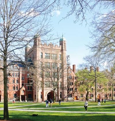 VTV4 tác nghiệp tại Trường Yale ảnh 1