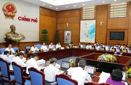 Chính phủ họp phiên thường kỳ tháng 7 ảnh 1