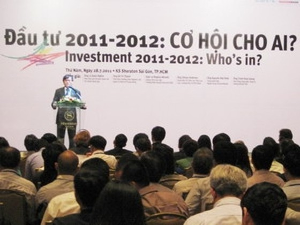 1.000 doanh nghiệp dự hội nghị đầu tư 2011 ảnh 1