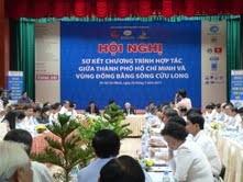 TPHCM đẩy mạnh hợp tác các tỉnh ĐBSCL ảnh 1