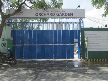 Ách tắc tiền sử dụng đất dự án Orchard Gaden ảnh 1
