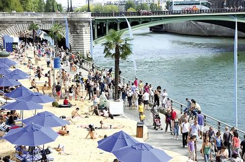 Lễ hội Bãi biển Paris ảnh 1