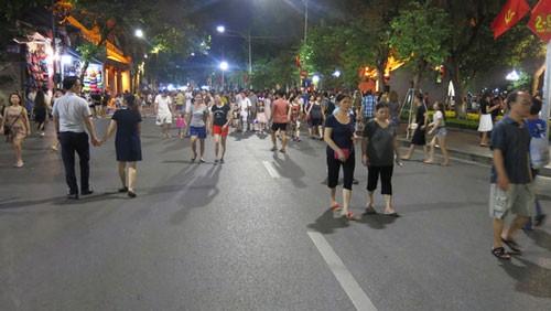 Hà Nội mở rộng thêm tuyến phố đi bộ ảnh 2