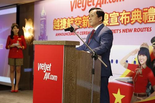 Vietjet mở đường bay Hà Nội - Đài Bắc, TPHCM - Cao Hùng ảnh 1