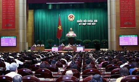 Bế mạc kỳ họp thứ 7 Quốc hội khóa XIII ảnh 1