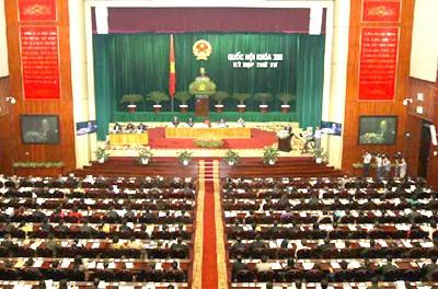Quốc hội thông qua chỉ tiêu KT-XH 2013 ảnh 1