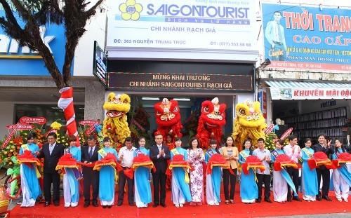 Saigontourist khai trương văn phòng tại Gò Vấp TPHCM ảnh 1