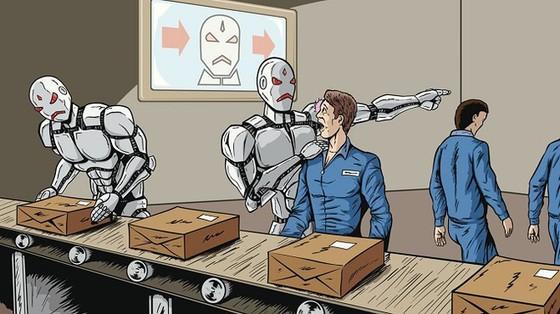 Công ty Trung Quốc thay 90% lao động robot ảnh 1
