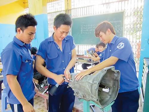 Thực trạng trường nghề (B2): Vì sao trường nghề teo tóp? ảnh 1