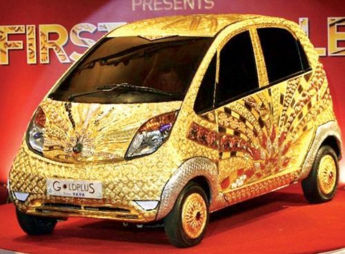 """Tata """"dát vàng"""" xe siêu rẻ Nano ảnh 1"""