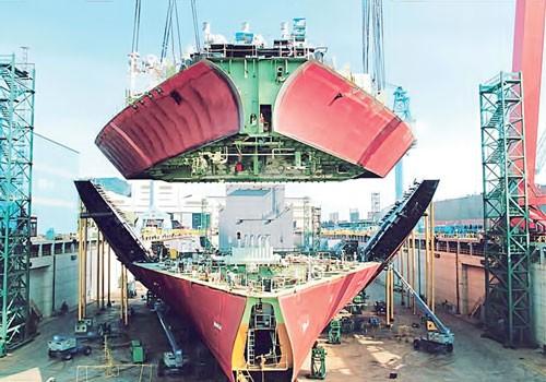 """Công nghiệp đóng tàu Hàn Quốc (K1): """"Khủng long"""" trên biển ảnh 1"""