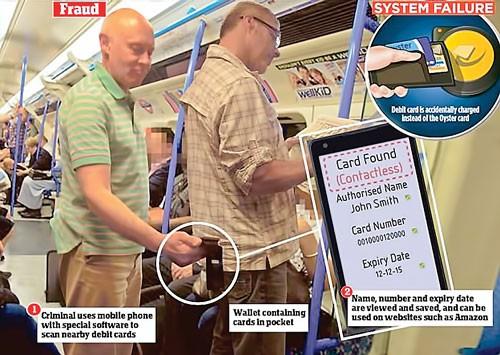 Thẻ không tiếp xúc có an toàn? ảnh 1