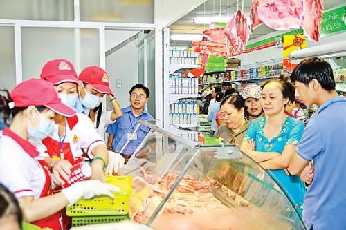 Thị trường lương thực: Liên kết để bình ổn ảnh 1