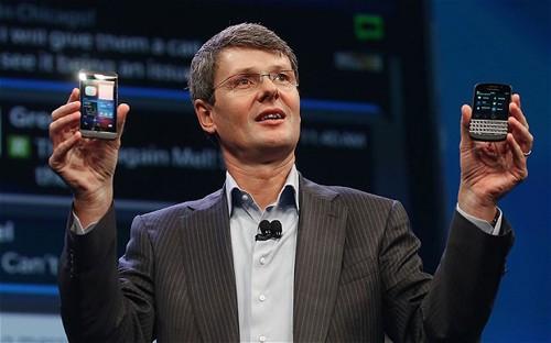 Cổ phiếu BlackBerry mất hơn 16% ảnh 1