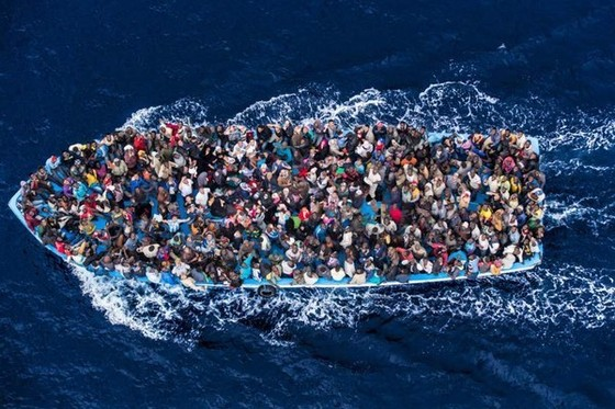 Châu Âu đối mặt với làn sóng tị nạn mới ảnh 1