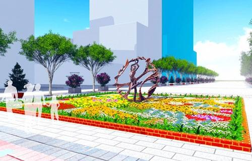 5 tác phẩm điêu khắc ở đường hoa Nguyễn Huệ ảnh 2
