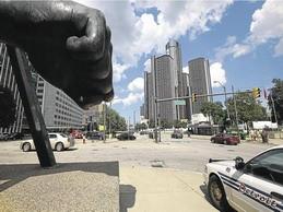 Ngân hàng châu Âu cuốn theo phá sản Detroit ảnh 1
