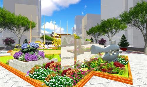 5 tác phẩm điêu khắc ở đường hoa Nguyễn Huệ ảnh 3