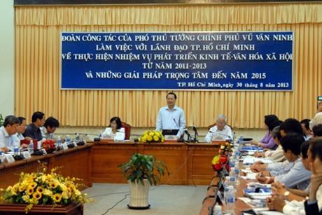 TPHCM giữ vững vai trò đầu tàu kinh tế ảnh 1