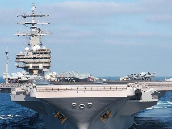 Điều thêm tàu sân bay, Mỹ dọa tấn công Triều Tiên ảnh 1